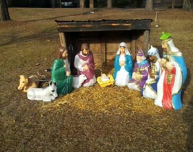 Nativity Scene in Columbia