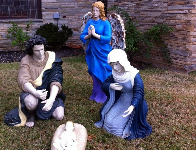 Navasota Nativity Baby Jesus