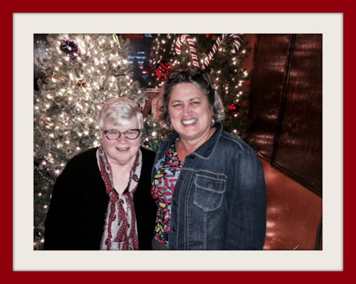 Sheila and T Xmas 2015